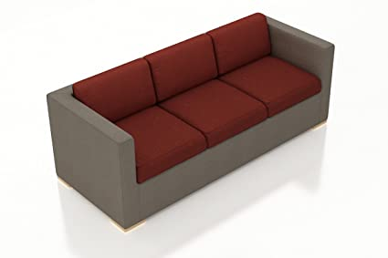 Amazon.com: Harmonia Living HL-ELE-TP-S-HN Element Sofa ...