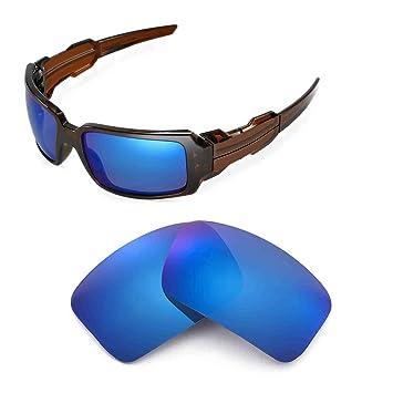 Walleva Ersatzgläser für Oakley Fives 4.0 Sonnenbrille - Mehrfache Optionen (Eisblau beschichtet - polarisiert) e9mlr4Q