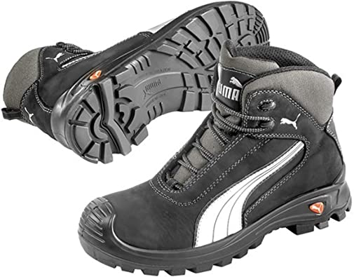 PUMA Safety Mens Cascades Mid Lace-up