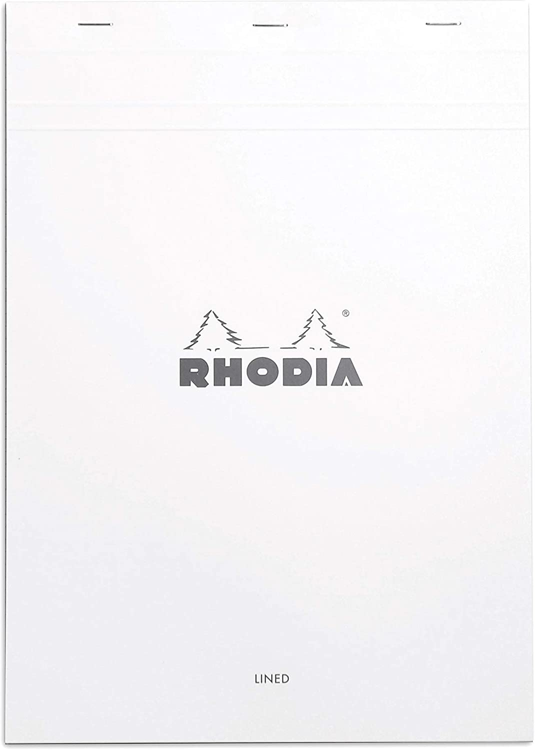 Rhodia Notepad, No18 A4, Lined - White