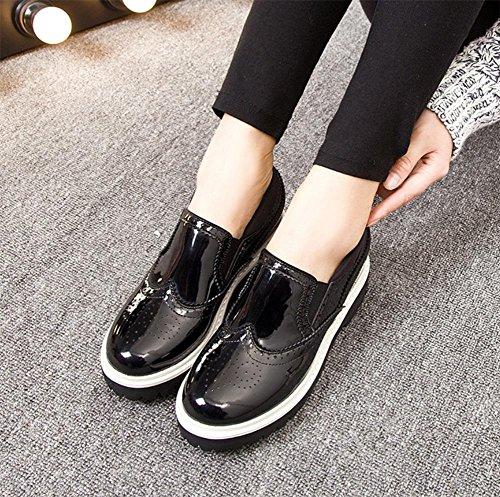 scarpe focaccina scarpe Scuola scarpe piccole scarpe pesante fondo primavera vento pendenza ascensore singola di con Ms wZxTqAH
