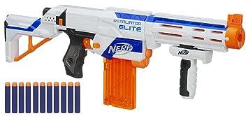 Nerf - Lanzadardos Retaliator 4 en 1 (Hasbro 98696E35)