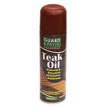 1 x botella de Spray de aceite de teca exterior muebles de jardín de ...