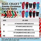 Gmoka Christmas Novelty Warm Socks, 1Pairs Elk