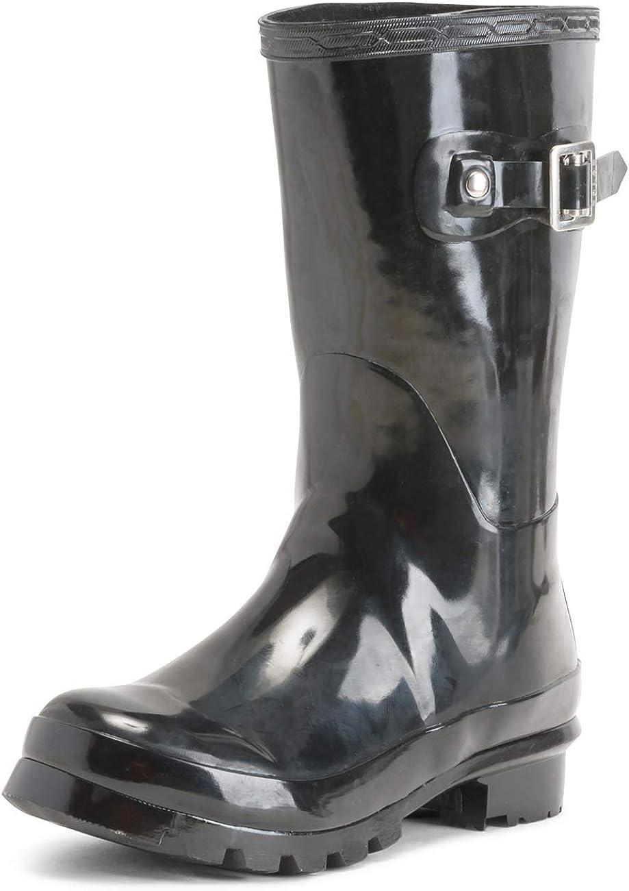 Unisex Kids Original Gloss Muck Rubber Wellingtons Garden Rain Snow Boot