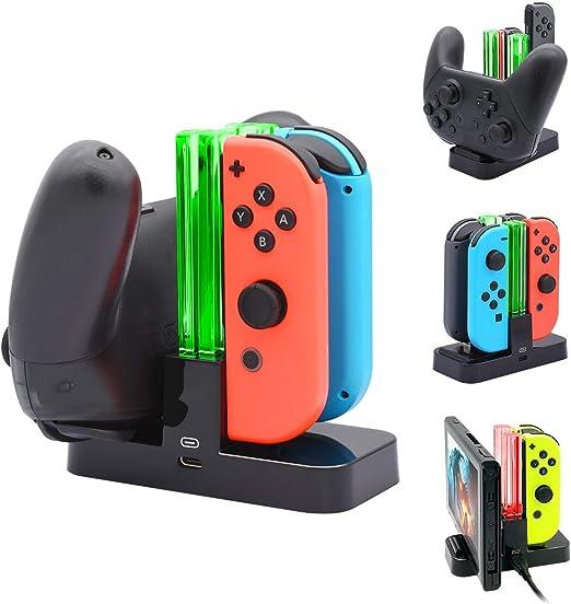 Controlador Cargador para Nintendo Switch, Base Stand con ...