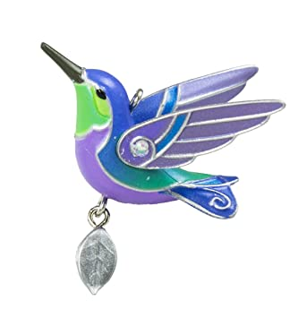 Amazon.com: Hallmark Keepsake 2016 Mini Hummingbird Christmas ...