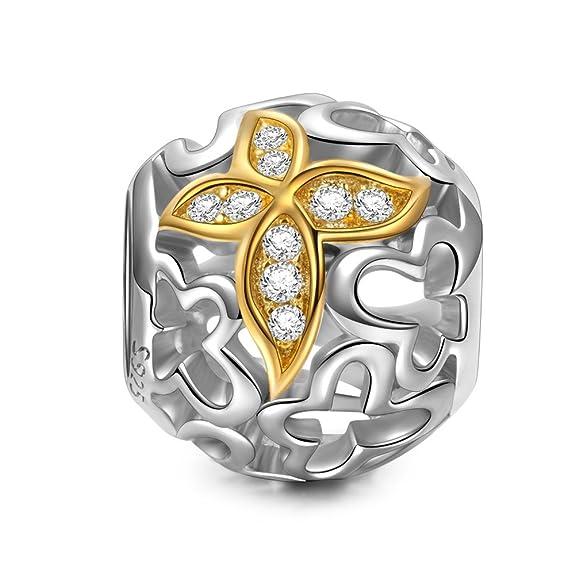 33 opinioni per NinaQueen- Ballo di primavera- Charms Bead da donna argento sterling 925