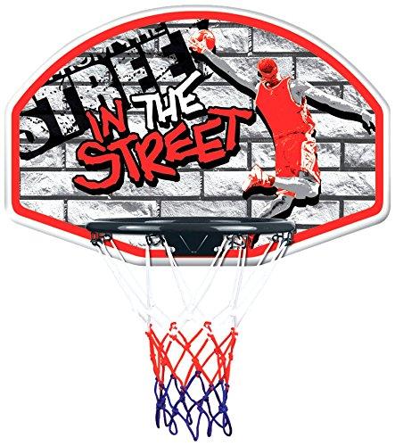 Plast CB1613 - Calle Baloncesto Baloncesto con Pelota, de diámetro 32 cm New Plast