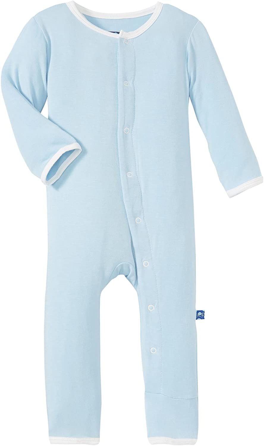 Kickee Pants Baby Boys Infant Applique Coverall