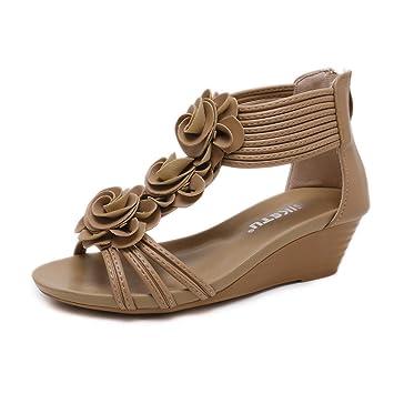 3c8a230bfcb2e HAINE Femmes Summer Clip Toe Flats
