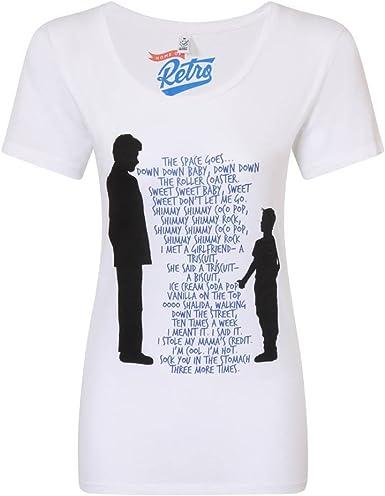 Welp Big Rap Shimmy Shimmy Coco Pop Womens White T-Shirt 2X-Large CZ-81