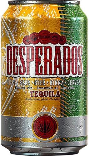 Heineken Desperados Tequila Beer 24 X 0 33l Cans Amazon Co Uk Beer Wine Spirits