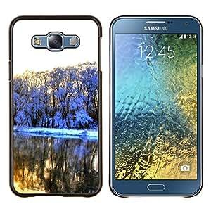 EJOOY---Cubierta de la caja de protección para la piel dura ** Samsung Galaxy E7 E700 ** --Naturaleza Princesa