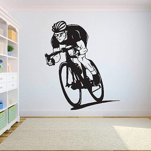 GUDOJK Bicicleta Tatuajes de Pared Bicicleta Ejercicio Etiqueta ...