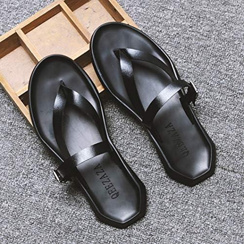 メンズ ビーチサンダル オシャレ 蒸れない 通気性 カジュアル オフィス 両用靴 夏用靴 サボ かっこいい 快適 コンフォート ビジネス 軽量 滑り止め 歩きやすい 柔らかい 大きなサイズ 紳士靴 夏 スリッパ ビーサン