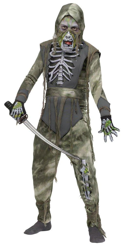 Horror-Shop Undead Ninja Costume Niño: Amazon.es: Juguetes y ...