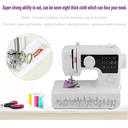 Amazon Homgrace Electric Mini Speed Portable Household Desktop Enchanting Super Stitch Sewing Machines