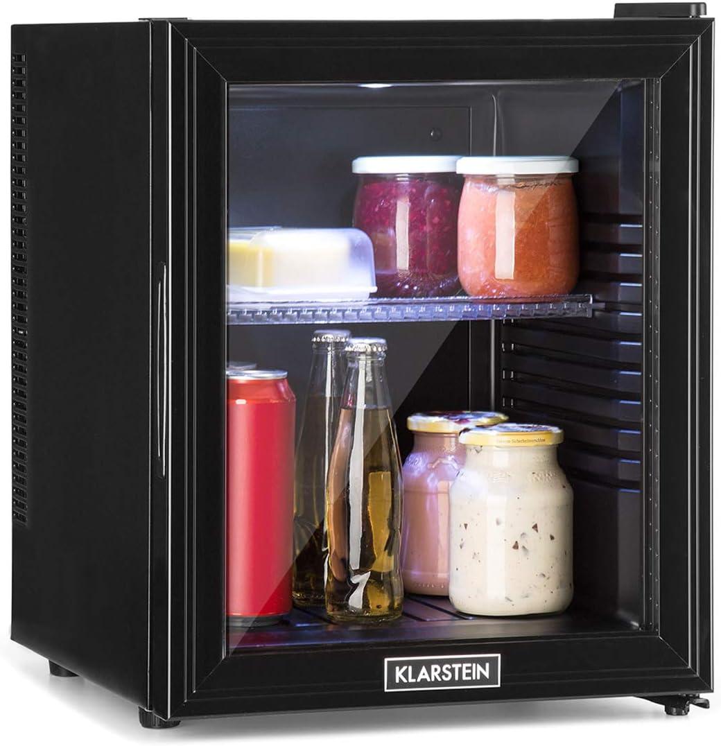 Klarstein Brooklyn 32L Kühlschrank mit Glastür - Mini-Kühlschrank - Barelemente kaufen