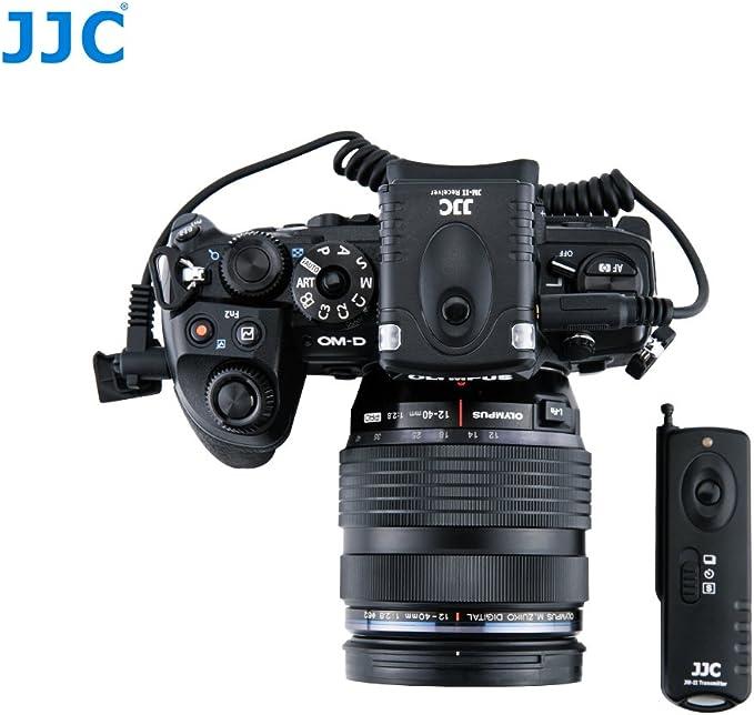 Jjc funk-disparador a distancia para olympus e-m1 Mark II-reemplaza Olympus rm-cb2