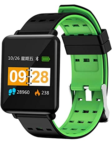 62ca77990 GeTuo Smart Watch Color Touch Screen Pedometer Heart Rate Monitor Blood  Pressure Activity Tracker Bluetooth Sport