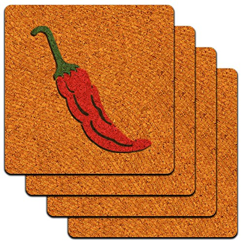 Pepper Southwest Mexican Profile Coaster