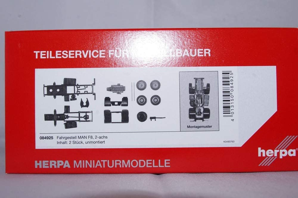 Fb. 2achs Herpa 84925 TS FG Man Zgm F8