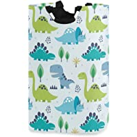 Greeting Beautiful Card with Elephant Hanging Laundry Basket Hamper Bag Dirty Clothes Storage Bin Washing Baskets Kids Toy Book Clothing Holder for Door Wall Home Bathroom Bedroom