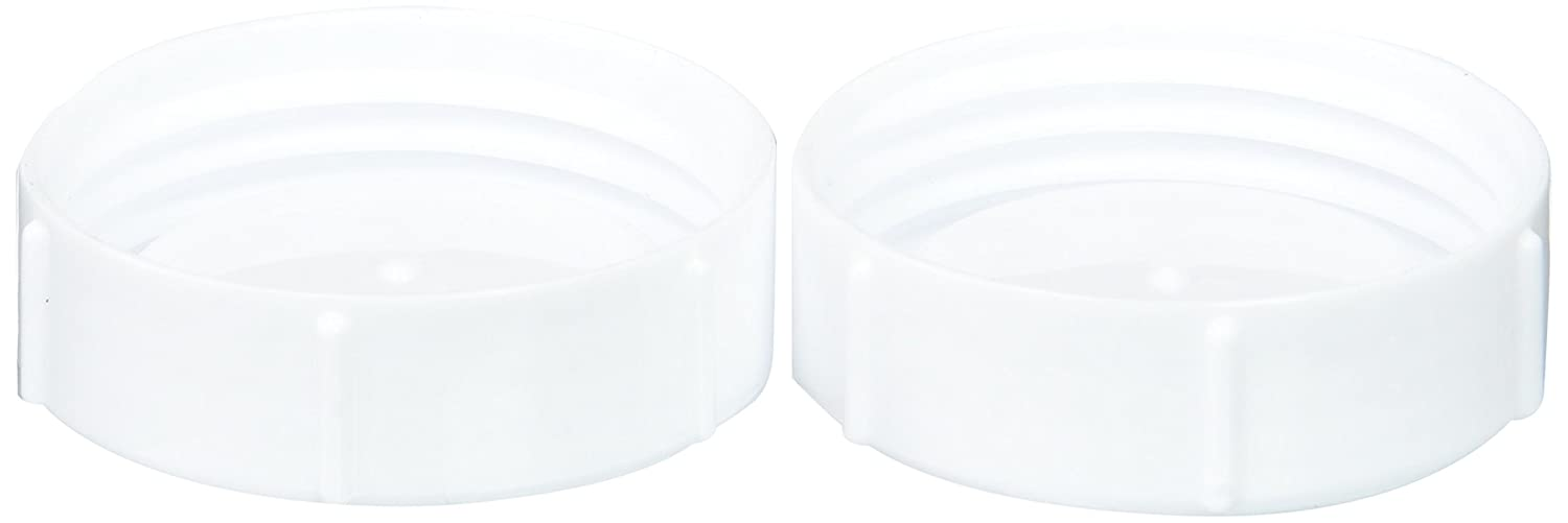 2 Pack Browns Natural Flow Wide Neck Storage Travel Caps Replacement Dr