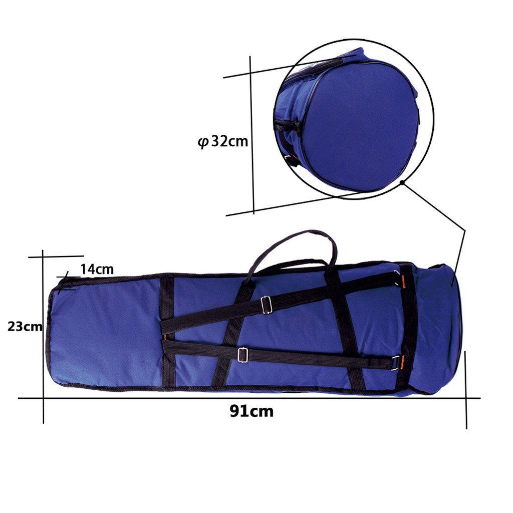 Jili Online Oxford Fabric Shoulder Bag Tenor Trombone Stage Bag for Trombonist Blue by Jili Online (Image #8)