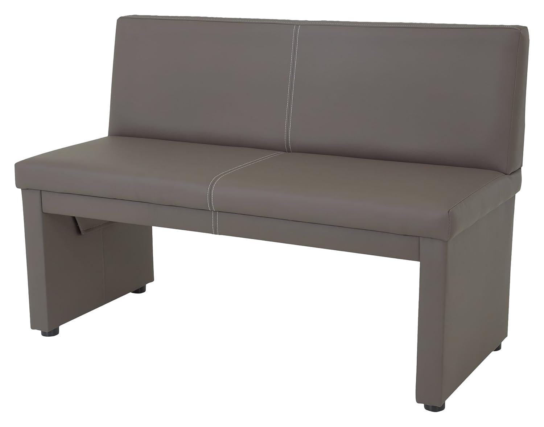 sitzbank mit lehne leder perfect sitzbank mit lehne bank. Black Bedroom Furniture Sets. Home Design Ideas