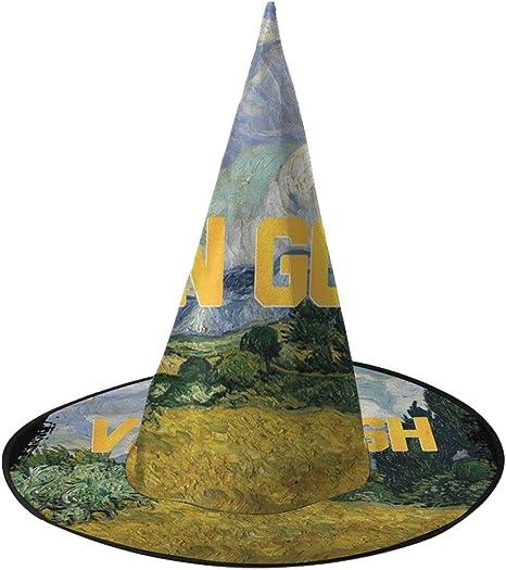 NUJSHF Van Gogh Masters Collection - Sombrero de Bruja Inspirado ...