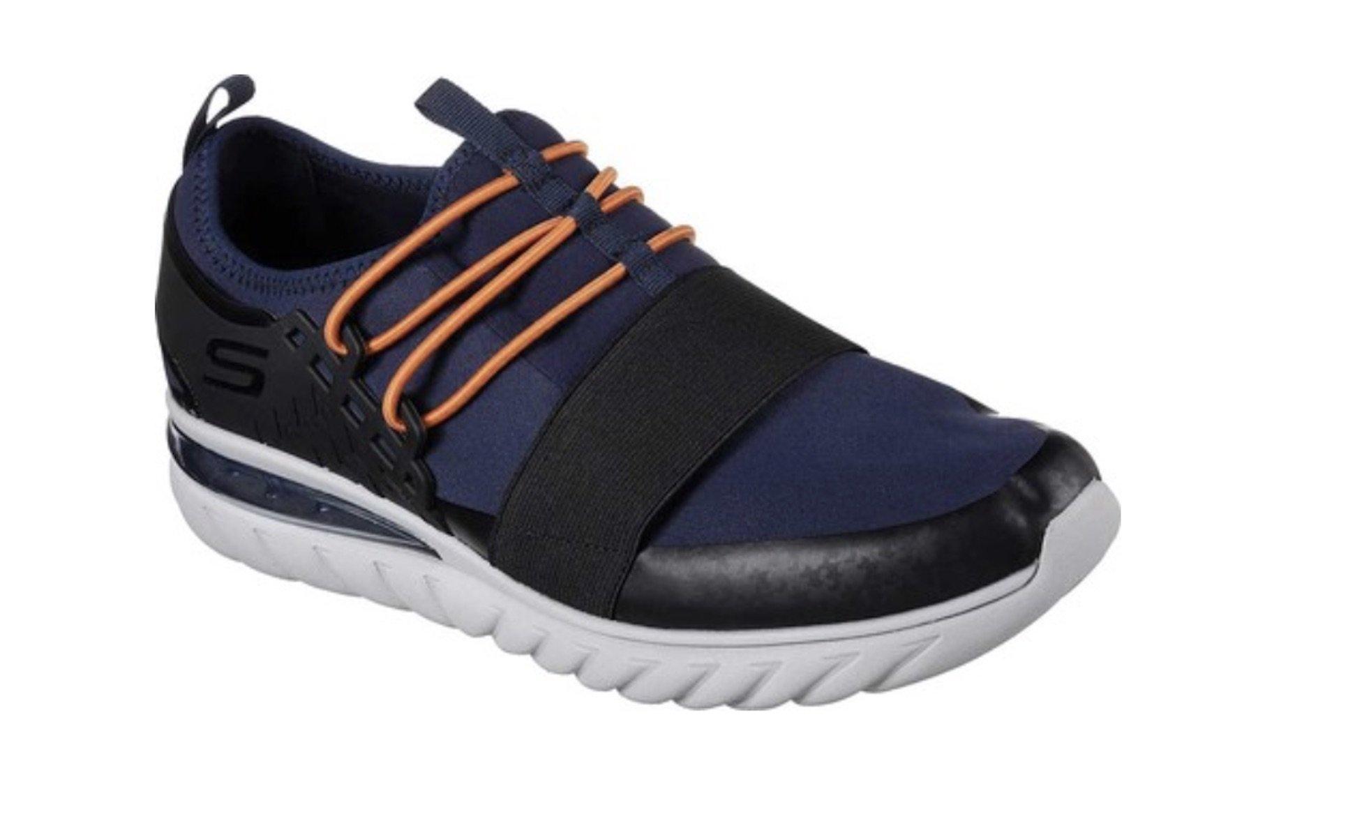 Skechers Skech-Air Conflux Men's Mesh Lightweight Slip On Shoes Navy Size 12