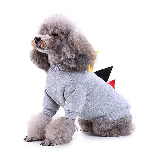 BOSHDEN Traje De Dinosaurio Mascota Ropa para Perros ...