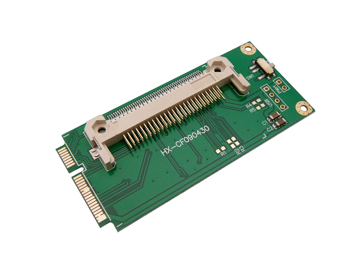 CF (compact flash) - a mini PCIE se reemplace el adaptador de ...