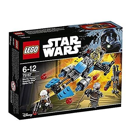 LEGO Star Wars Pack de Batalla: Speeder Bike de Bounty Hunter