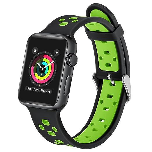 176 opinioni per Apple Watch Bracelet Series 2 / Series 1, EloBeth Remplacement de Silicone