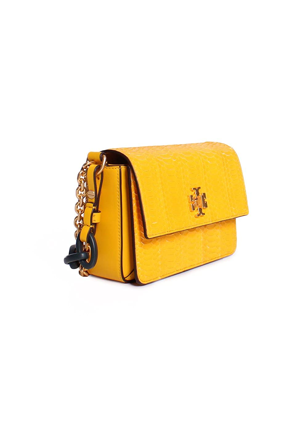 1a35c49ada99 Tory Burch Kira Snake Double Strap Exotic Mini Bag in Daisy  Amazon.ca   Clothing   Accessories