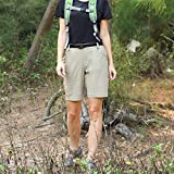 MIER Women's Stretchy Hiking Shorts Lightweight