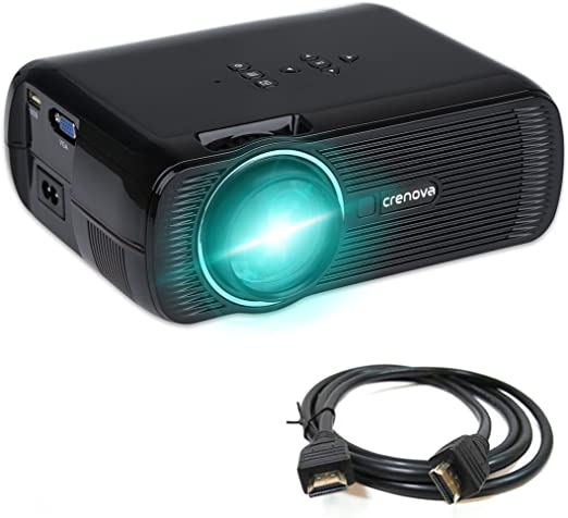Proyector de vídeo, Crenova XPE460 Mini Projector Resolución 800 x ...