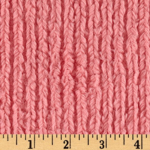 Shannon Minky Luxe Cuddle Chenille Coral Fabric By The (Minky Line Fabric)