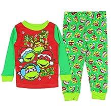 Teenage Mutant Ninja Turtles Little Boys' Christmas Pajama Sleepwear Set