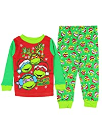 Teenage Mutant Ninja Turtles Little Boys' Christmas Pajama Sleepwear Set