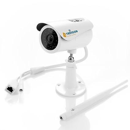 TriVision – Cámara IP, al aire libre WiFi 1080P Full HD hogar sistema de cámaras