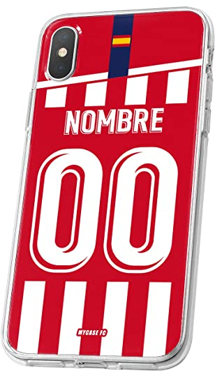 MYCASEFC Carcasa Atletico Madrid de Futbol por Smartphone y ...