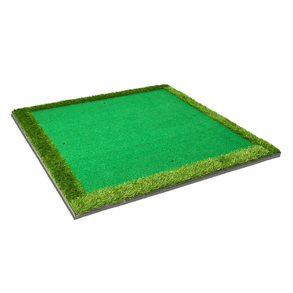 Super Kh® 室内と屋外のゴルフボールパッドの練習マットスイング練習マット150 * 150cm   B07KMPZ2WB