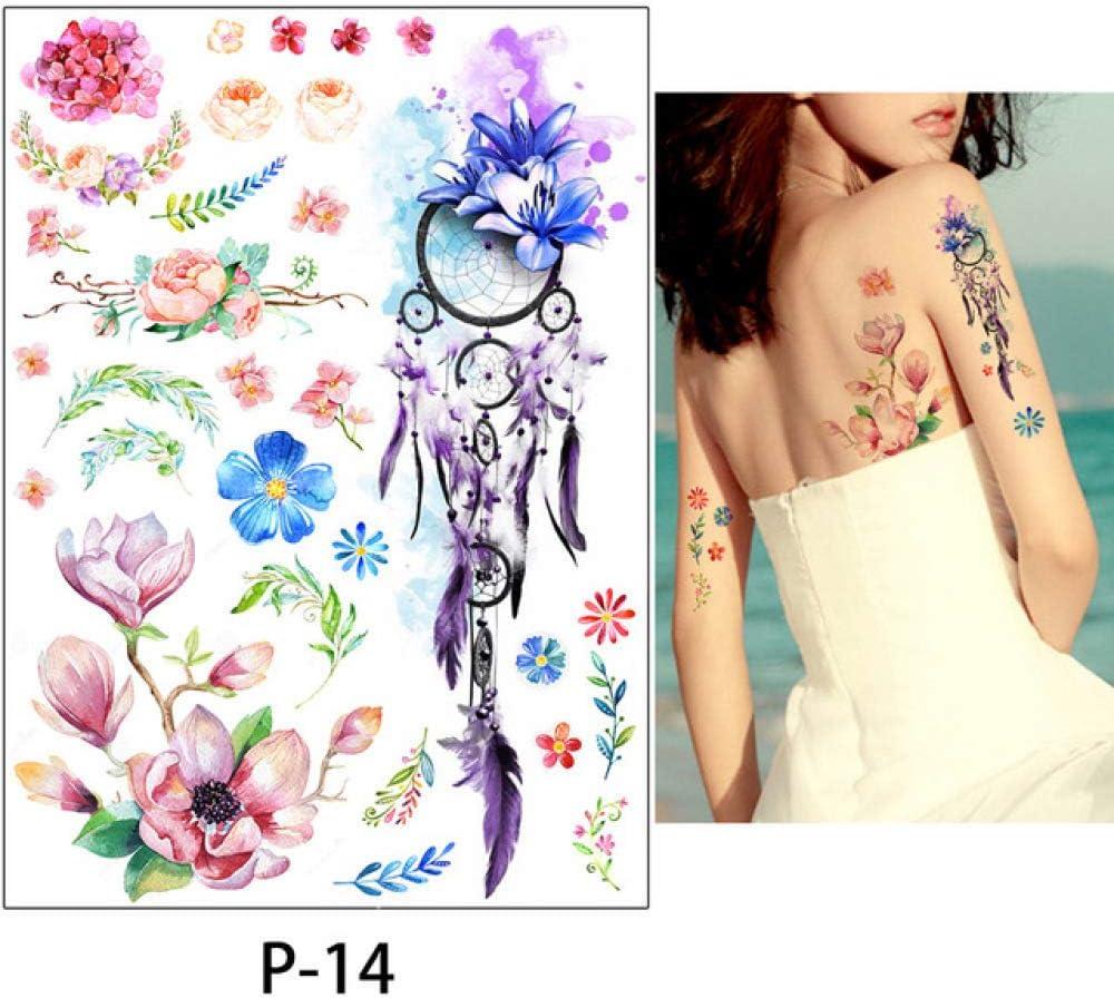 adgkitb Etiqueta engomada Temporal del Tatuaje de la Galaxia 3pcs ...