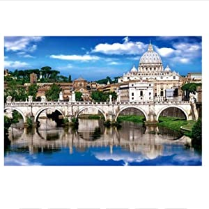 KOKOSS Puzzle 1000 Pieces Landscape Pattern Pictures Adult Kids Jigsaw Educational Toy for Kids Jigsaw Adulto Gifts-B
