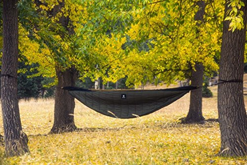 OneTigris Hammock Underquilt, Lightweight Camping Quilt, Packable Full Length Under Blanket (OD Green – 3 Seasons Underquilt)