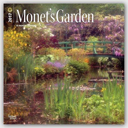 Monet's Garden 2017 Square (Multilingual Edition)